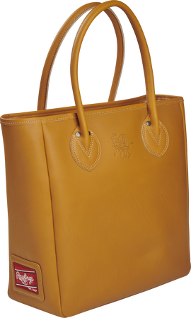 HOHTOTE2 Heart of the Hide Tan Tote bag with two leather handles