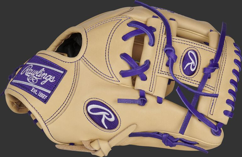 Thumb of a camel 2021 Trevor Story Heart of the Hide glove with a camel I-web - SKU: RSGPRONP4-2TS