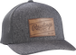 Rawlings Leather Patch Mesh Snapback Hat image number null