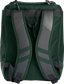 Back of a dark green Rawlings Franchise backpack with gray shoulder straps - SKU: FRANBP-DG image number null