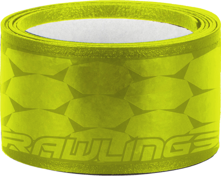GRIPPS-NEONYEL neon yellow 1.0mm replacement batting grip