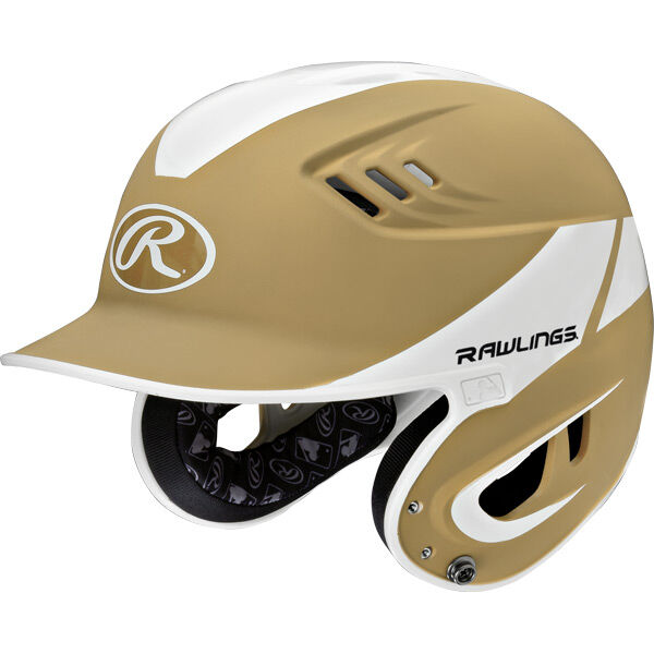 Velo Senior Batting Helmet Vegas Gold