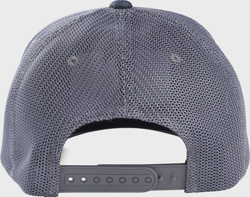Rawlings Denim Mesh Snapback Hat