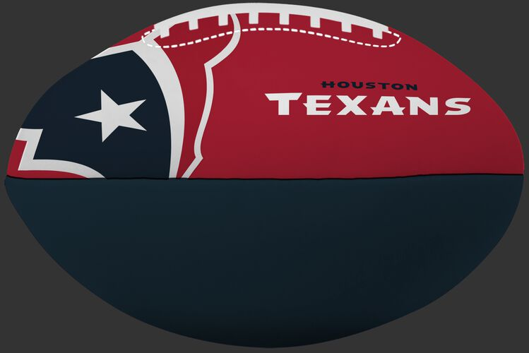 NFL Houston Texans Big Boy softee football in team colors and featuring team logos and team name SKU #03211093111