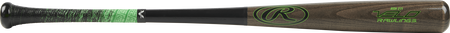 R271AV Velo ash wood bat with a grey barrel and black handle