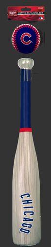 MLB Chicago Cubs Bat and Ball Set