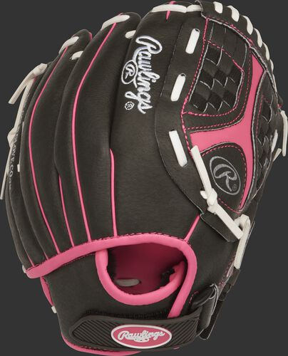 ST1050FPP 10.5-inch Storm softball infield glove with a black back and adjustable Micro-Injection Velcro wrist strap