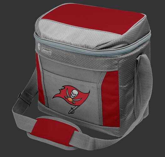 Rawlings Tampa Bay Buccaneers 16 Can Cooler In Team Colors With Team Logo On Front SKU #03291086111