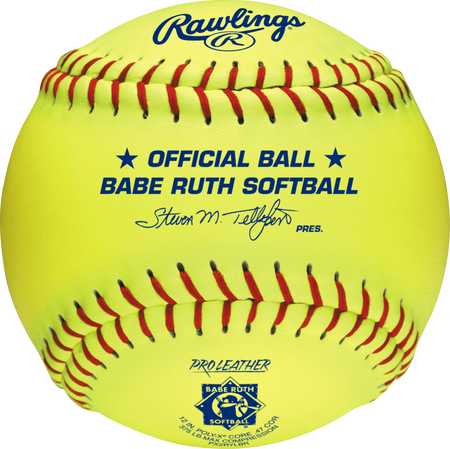 "Babe Ruth Official 12"" Softballs"