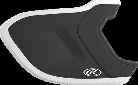Mach EXT Two-Tone Batting Helmet Extension For Left-Handed Batter