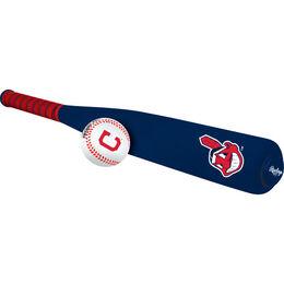 MLB Cleveland Indians Foam Bat and Ball Set