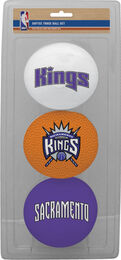 NBA Sacramento Kings Three-Point Softee Basketball Set