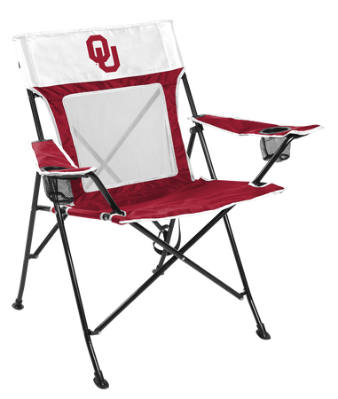 NCAA Oklahoma Sooners Game Changer chair with the team logo