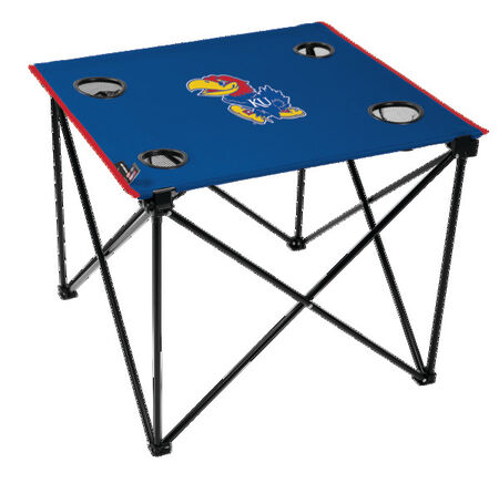 NCAA Kansas Jayhawks Deluxe Tailgate Table
