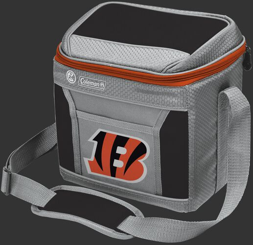 Rawlings Cincinatti Bengals 9 Can Cooler In Team Colors With Team Logo On Front SKU #03281063111