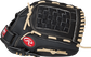 Thumb view of a black RSS130C RSB 13-inch outfield glove with a black Basket web image number null