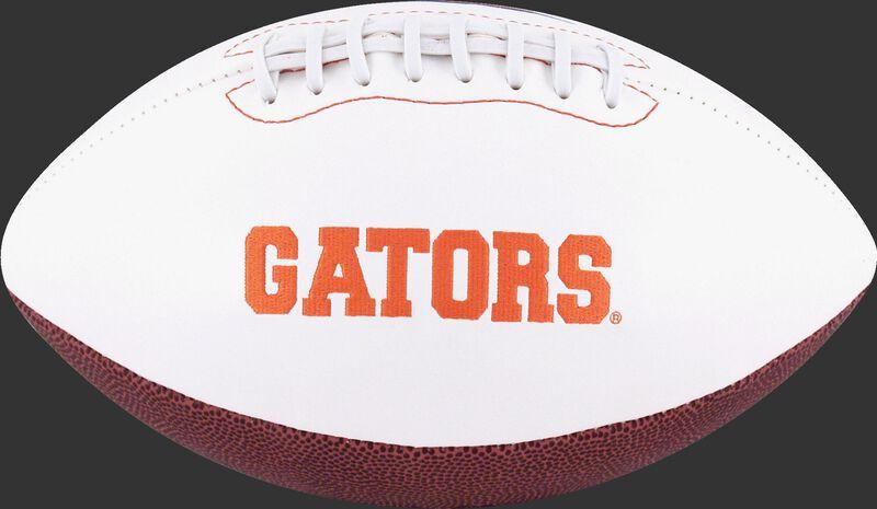 White NCAA Florida Gators Football With Team Name SKU #05733022122