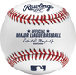 A ROMLB Official Baseball of MLB with the stamped commissioner's signature image number null
