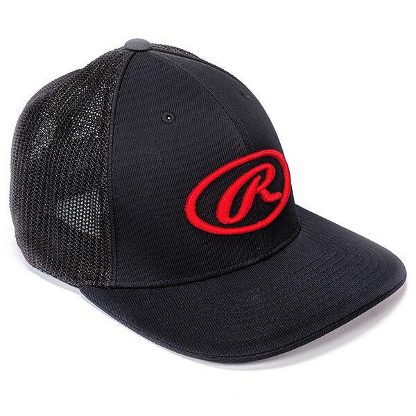 Oval R Trucker Mesh Hat