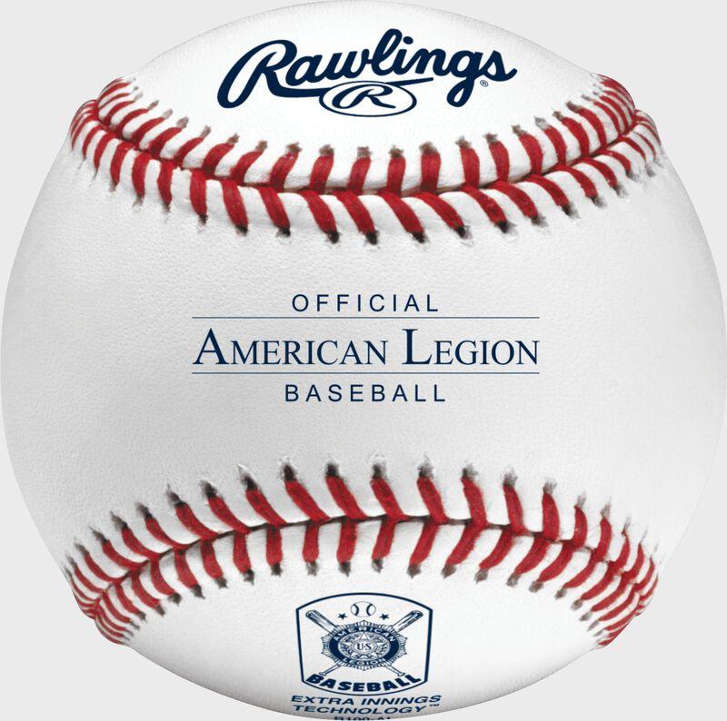 R100-AL Official American Legion baseball with the American Legion logo