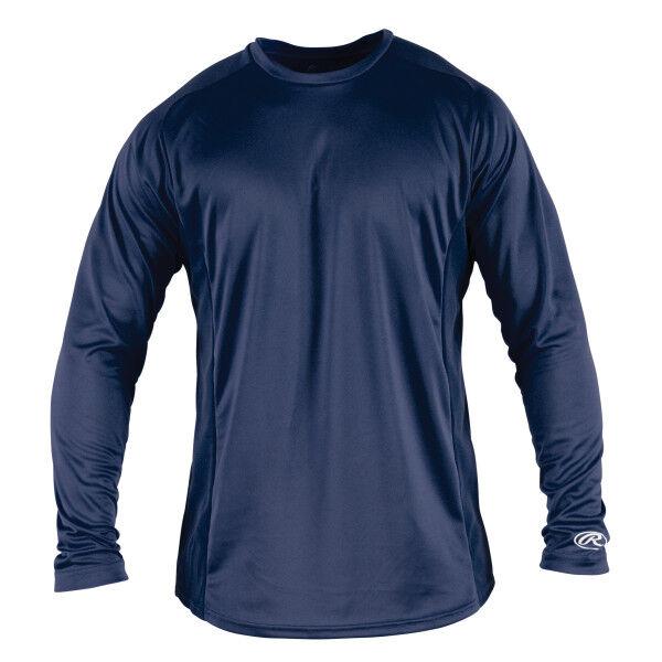 Adult Long Sleeve Shirt Navy