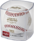 A Los Angeles Dodgers 2020 World Series champions baseball in a clear display cube - SKU: EA-WSBB20CHMP-R image number null