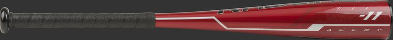 TBZQ11 Rawlings USA -11 t-ball bat with a red barrel and black grip