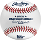 An official 2020 Mexico Series baseball with the Official ball of Major League Baseball stamp - SKU: ROMLBMS20 image number null