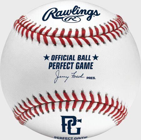 Perfect Game Flat Seam Baseballs