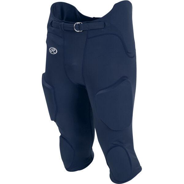 Adult Lightweight Football Pants Navy