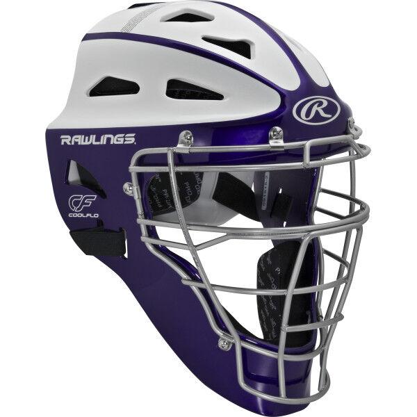 Velo Youth Softball Catchers Helmet Purple