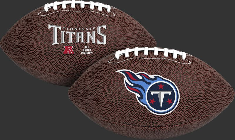 NFL Tennessee Titans Air-It-Out youth football with team name and logo SKU #08041069121