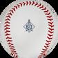 Los Angeles Angels 60 year anniversary logo stamped on a Major League baseball - SKU: EA-ROMLBLAA60-R image number null