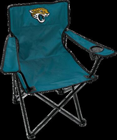 Front of Rawlings Teal NFL Jacksonville Jaguars Gameday Elite Chair With Team Logo SKU #00551091111