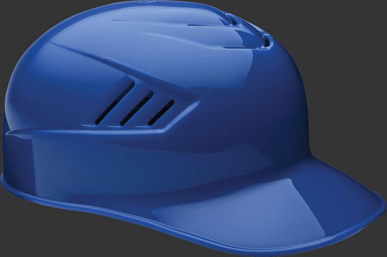 A royal CFPBH Coolflo adult base coach helmet with Coolflo vents