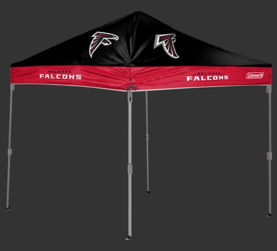 Rawlings Red and Black NFL Atlanta Falcons 10x10 Canopy Shelter With Team Logo and Name SKU #03221060111