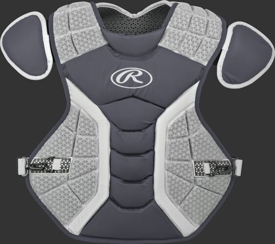 A graphite/grey CPPRO Pro Preferred adult chest protector