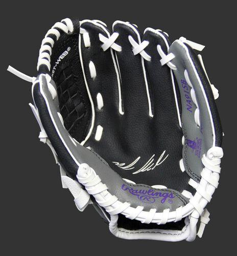 MLBPA 9-inch Nolan Arenado player glove with a black palm