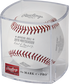 ALCS19CHMP 2019 ALCS Champions baseball in a clear display cube image number null