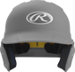 Front of a matte silver MACH junior size batting helmet image number null