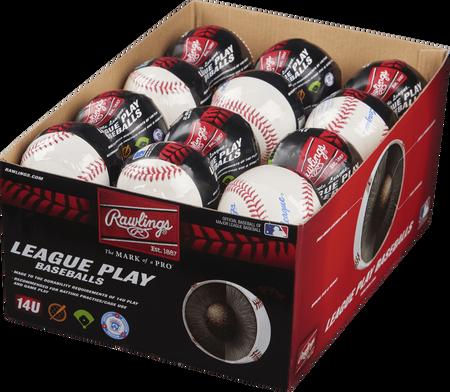 24 Pack Little League 14U League Play Baseballs