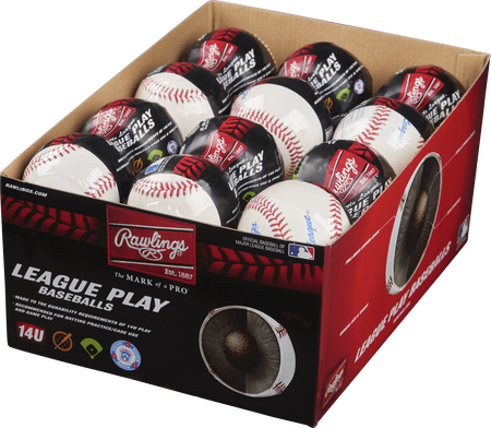 24 Pack Little League 14U League Play Baseballs