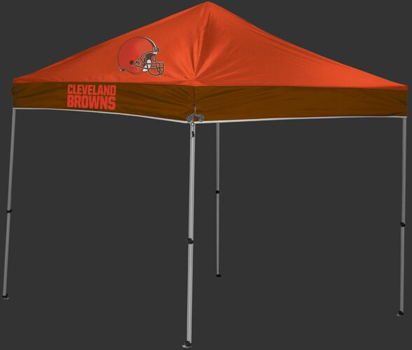 Rawlings Orange and Brown NFL Cleveland Browns 9x9 Canopy Shelter With Team Logo and Name SKU #03231064111