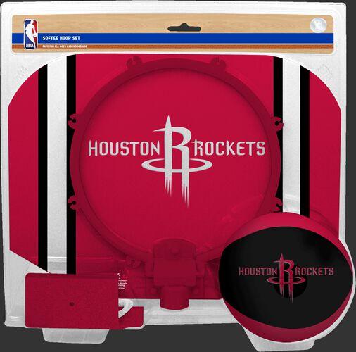 Rawlings Red and White NBA Houston Rockets Softee Hoop Set With Team Logo SKU #03544209114