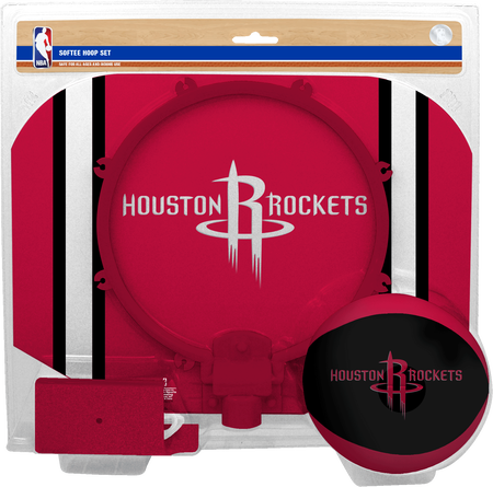 NBA Houston Rockets Softee Hoop Set