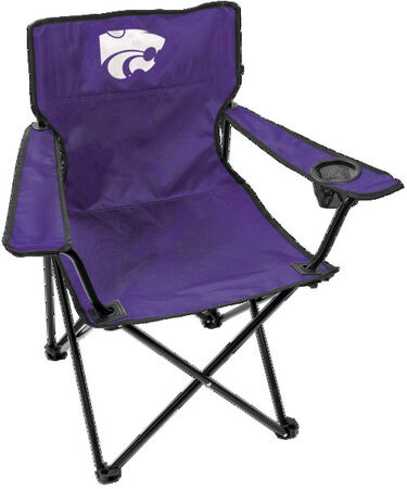 Front of Rawlings Purple NCAA Kansas State Wildcats Gameday Elite Chair With Team Logo SKU #00563033111