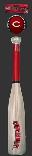 MLB Cincinnati Reds Bat and Ball Set