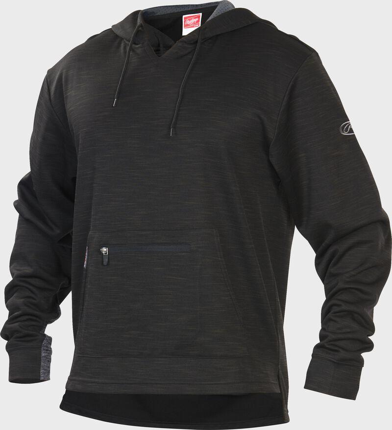 PFH2 Black Rawlings performance fleece hoodie