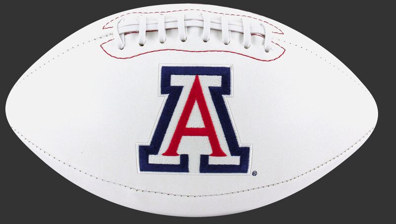 White NCAA Arizona Wildcats Football With Team Logo SKU #05733068121