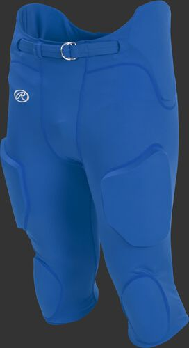 Front of Rawlings Royal Adult Lightweight Football Pants - SKU #FPL